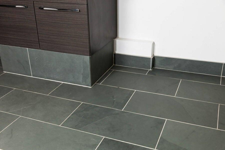 Internal Grey Slate  60 x 40 Tile 1.2m² 10mm Calibrated