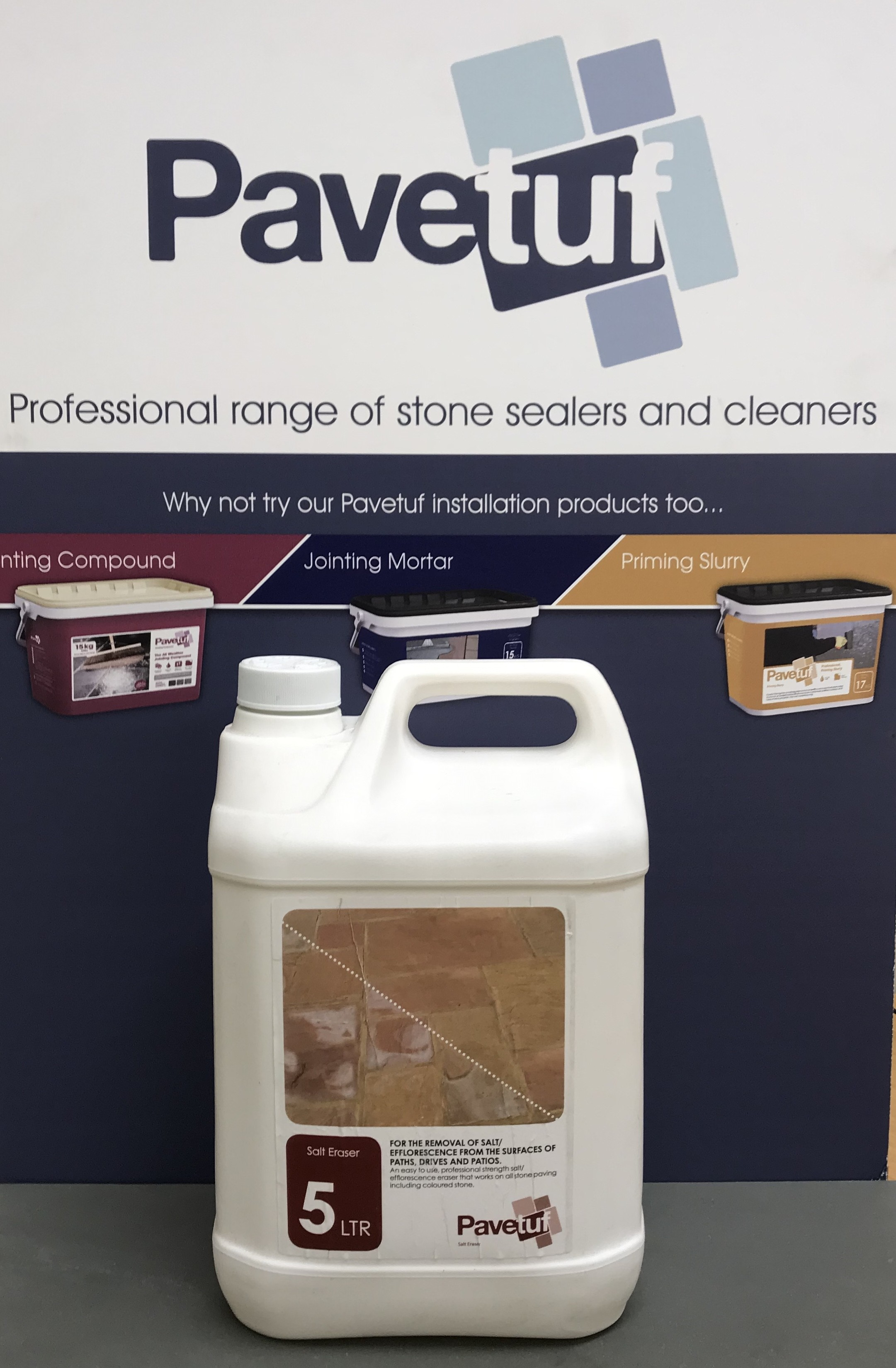 Pavetuf Salt Eraser Cleaner 5L