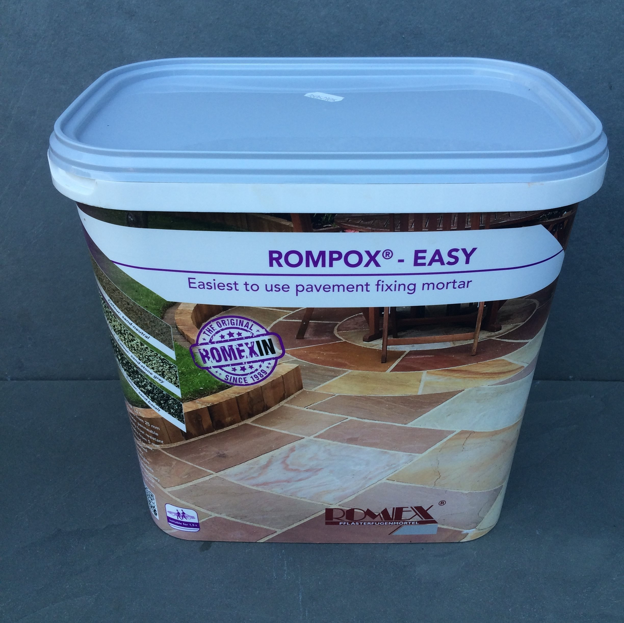 Romex Easy Pointing Mortar (Grey)