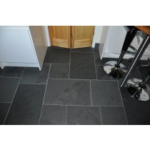 Internal Black Slate  60 x 40 Tile 1.2m² 10mm Calibrated