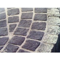 Grey Granite Paving Cobbles 10cm x 10cm