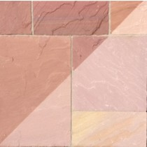 Modak Indian Sandstone Natural Calibrated Patio Paving Slabs Pack 18.5m2 22mm